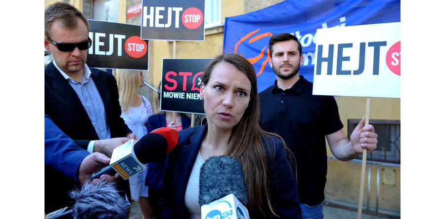 10 miesięcy więzienia dla hejtera za groźby wobec posłanki PO
