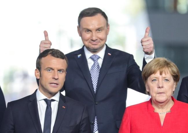 Prezydent Duda na szczcie Nato w Brukseli