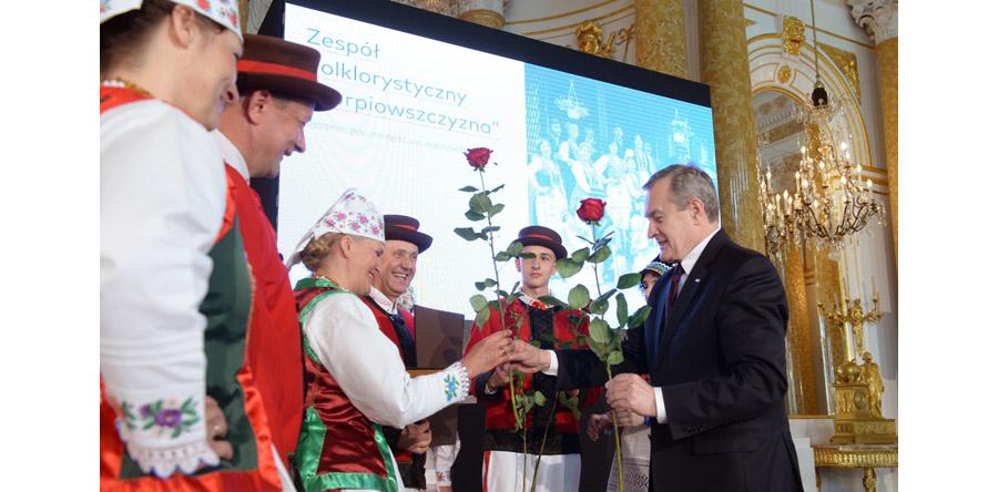 Wręczono nagrody im. Kolberga za zasługi dla kultury ludowej