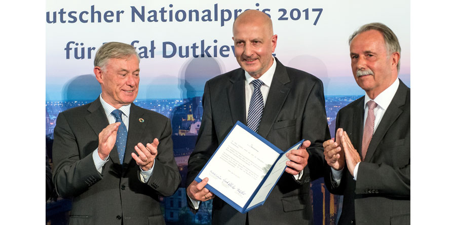 Rafał Dutkiewicz uhonorowany Niemiecką Nagrodą Narodową