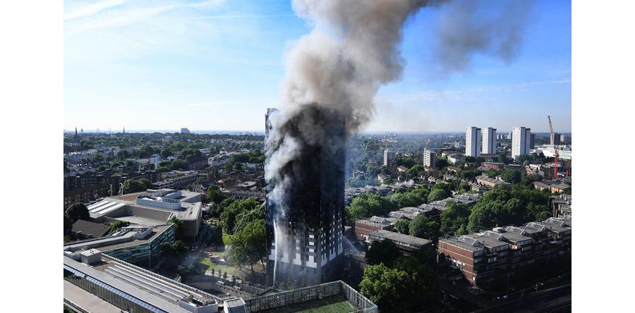 W. Brytania/ Wielu zaginionych w związku z pożarem w Londynie
