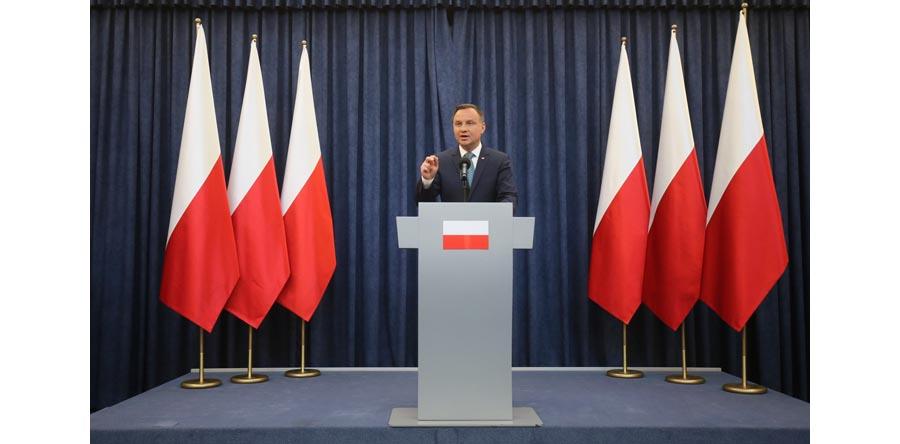 Prezydent: decyzja ws. ustaw o SN i KRS podyktowana niepokojem i obawami społeczeństwa