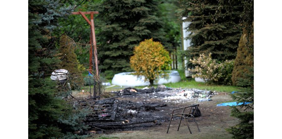 Mazowieckie/ Pożar domku letniskowego; nie żyje kobieta i dwoje dzieci