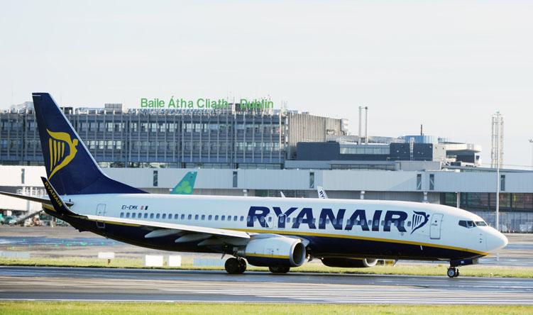 Ryanair odwołał kolejne 18 tys. lotów, w tym z Polski