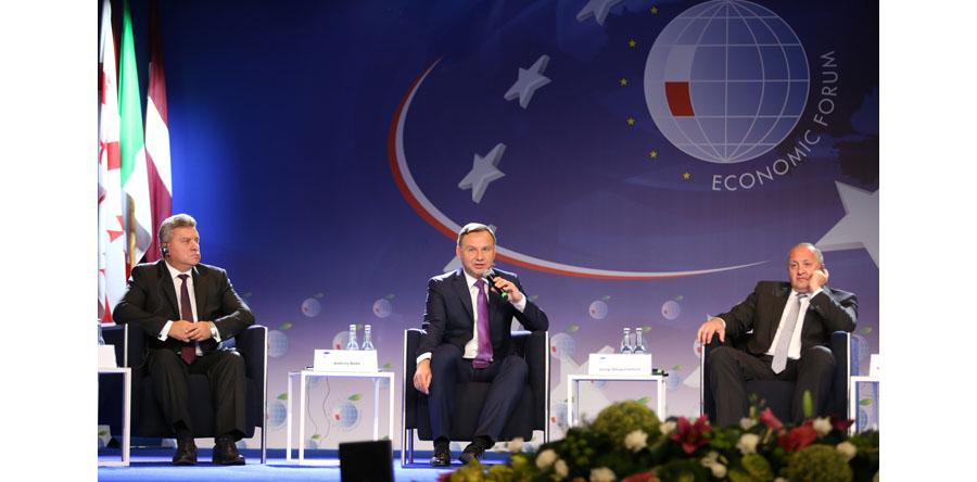 W Krynicy rozpoczęło się XXVII Forum Ekonomiczne