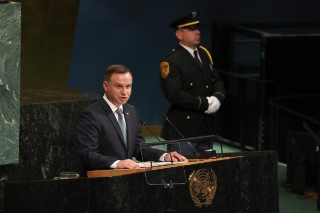 Wystąpienie Prezydenta RP w debacie generalnej na 72. Sesji Zgromadzenia Ogólnego ONZ