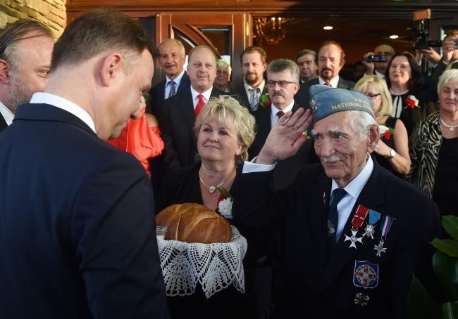 USA. Prezydent Duda spotyka się z Polonią w Wallington