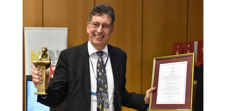 Historyk Robert I. Frost otrzymał Nagrodę Pro Historia Polonorum