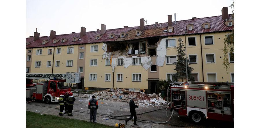 Szczecin/ Po wybuchu gazu ciężko ranna kobieta w szpitalu