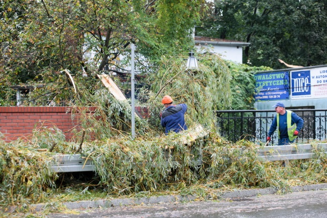 Sztorm Ksawery szaleje nad Polską