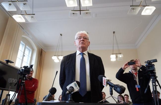 Proces przeciwko Krzysztofowi Wyszkowskiemu