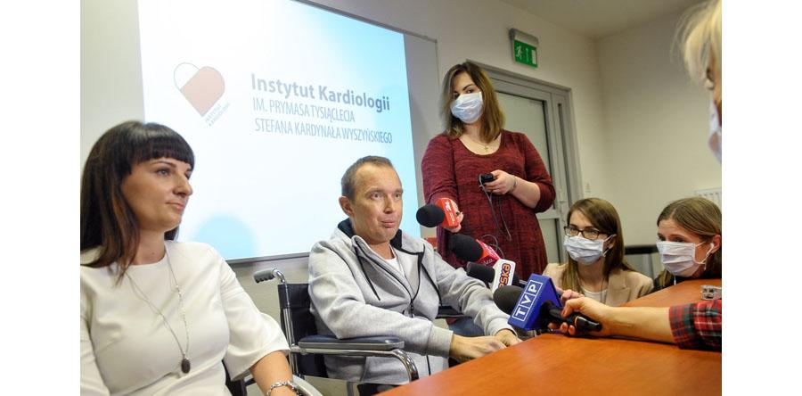 Przeszczep serca i nerki u jednego chorego w IK w Warszawie
