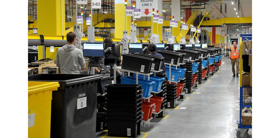 Zachodniopomorskie/ Amazon otworzył centrum logistyczne w Kołbaskowie