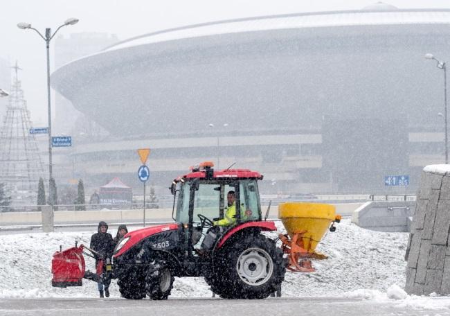 Polska w zimowej szacie