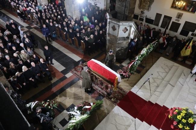 Uroczystości pogrzebowe Aliny Janowskiej